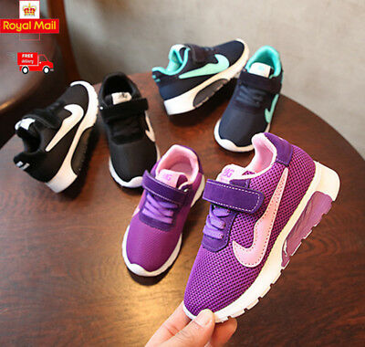 Girls Boys Running Trainers New Kids Children Comfort Sports School Shoes Size