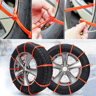 ECE3 Plastic Snow Chain Accessories Vehicles Tyre Universal Anti-Skid Chains