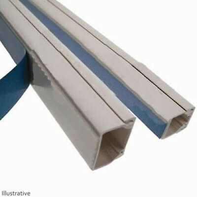 Self Adhesive Electrical Trunking (25 x 25mm)