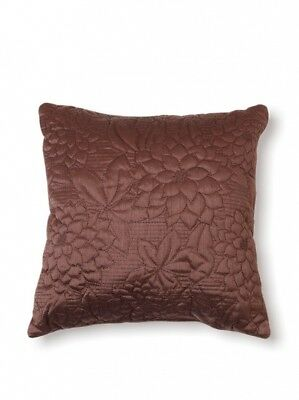 (Espresso) - Stylemaster Twill and Birch Gardenia Quilted Toss Pillow