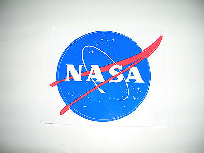 "OFFICIAL NASA ""MEATBALL"" STICKER - Authentic Vinyl Decal 3.5"" - FREE SHIPPING"