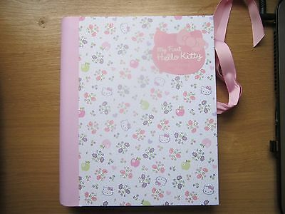New My First Hello Kitty Baby Record Journal Keepsake Book Girls Pink Gift Idea