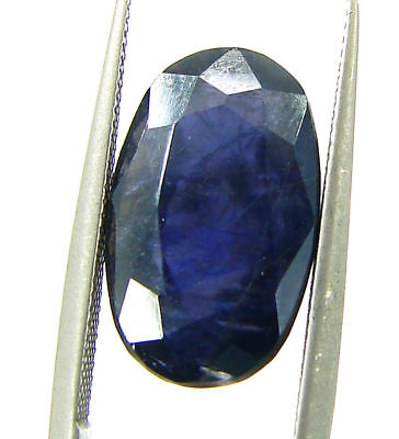 4.65 Ct Certified Natural Iolite Loose Gemstone Oval Stone - 108630