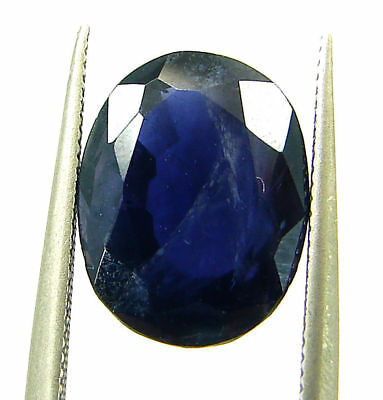 3.65 Ct Certified Natural Iolite Loose Gemstone Oval Stone - 108622
