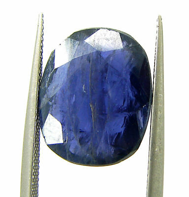 4.80 Ct Certified Natural Iolite Loose Gemstone Oval Stone - 108643