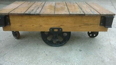 Lineberry Cart/ Coffee Table