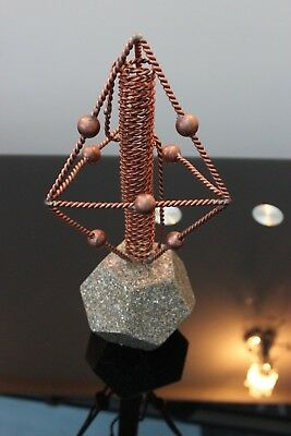 Sacred Cubit Tensor Ring Chembuster Cloudbuster Harmonizer Orgone dodecahedron