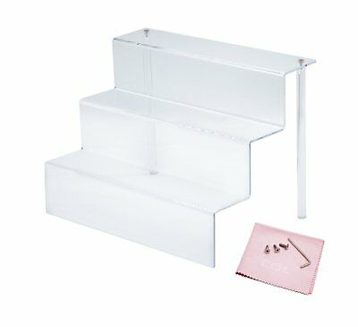 Combination of Life 3 Step Acrylic Riser Display Shelf for Amiibo Funko POP