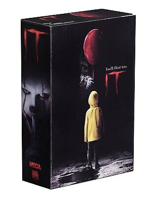 Figura Action PENNYWISE Stephen King Film IT 2017 Clown ULTIMATE Originale NECA