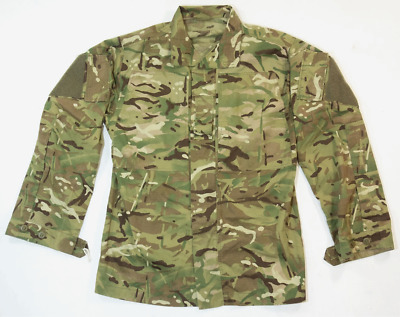 British army surplus MTP camo combat jacket shirt barrack