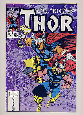 Thor #350 VF/NM 1984 ~ Fast Shipping ~  Marvel Comic Book