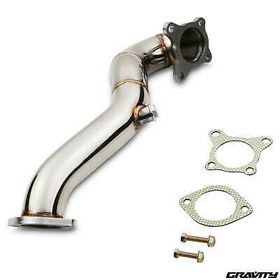 Stainless Sport Exhaust De Cat Decat Downpipe For Audi A1 8X A3 8P 1.4 Tsi 04+
