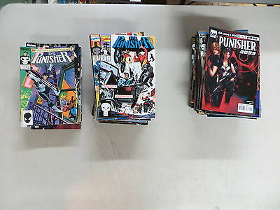 Punisher 182 Issue Comic Lot War Journal War Zone Marvel Knights Ennis