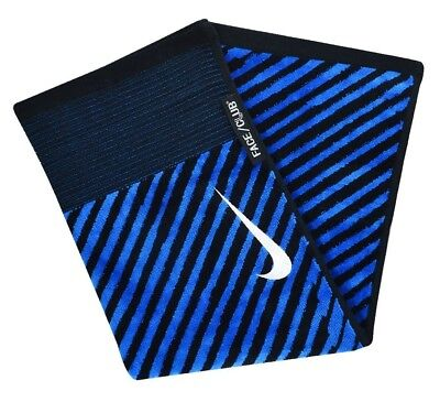 (Black/White/Military Blue) - Nike Golf- Face/Club Jacquard Towel
