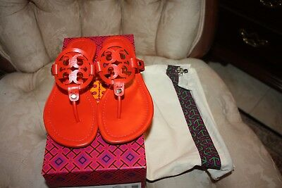 eae410a2c550 TORY BURCH MILLER 30MM Sandal Natucket Red Size 7M -  199.98
