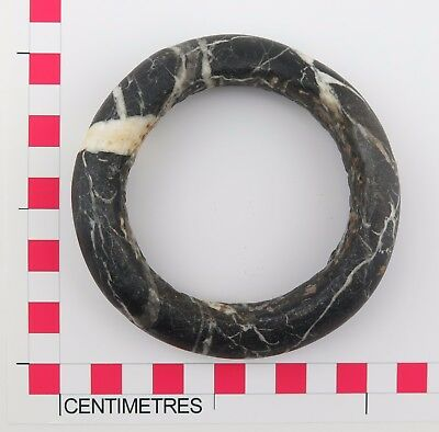 African tribal stone Sahel Burkino Faso Mali stone currency bangle. (7)