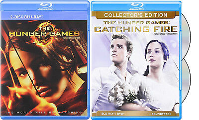 The Hunger Games + Catching Fire (Collect.) *new Blu-Ray Pack*