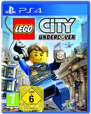 PS4 LEGO City Undercover NEU&OVP Playstation 4