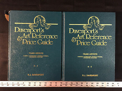 Davenport's Art Reference & Price Guide 2 Vols 1990/91 Edition (Hardcover)