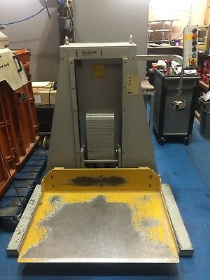 Knorr 600kg Paper Pallet Stack Hydraulic Lifting System German made 415V HD Pro