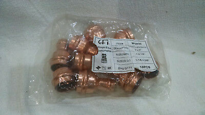 Cfi 9P2032 Press Copper Coupling Reducer 1X.5 Inch  Bag Of 10