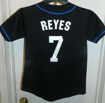 Jose Reyes New York Mets New  Majestic Mlb Baseball Jersey Boys S 100% Authentic