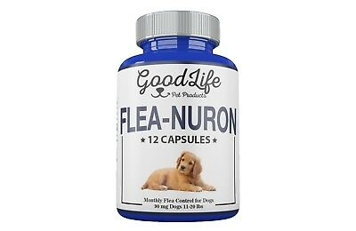 MONTHLY Flea Control 1 Year Supply For Dogs 11-20 Lbs. 90Mg GoodLife 12 Capsules