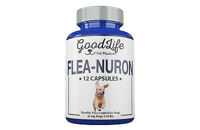 MONTHLY Flea Control 1 Year Supply For Dogs 2-10 Lbs. 45 Mg GoodLife 12 Capsules