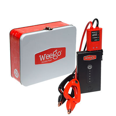 Weego Jump Starter 22S For Motorcycles, Boats And Automobiles 20Wh