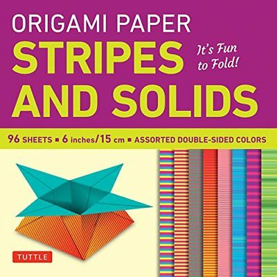 Origami Paper Stripes and Solids Its Fun to Fold