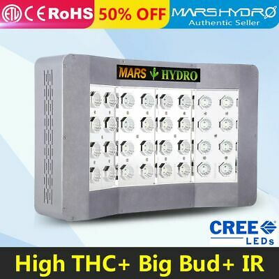 Mars Pro II Cree 600W LED Grow Light Full Spectrum Hydroponics Medical Veg Bloom