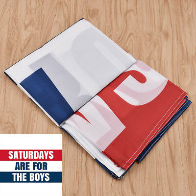 Saturdays Are For The Boys Flag Indoor Outdoor Banner Home Ornament Accessory
