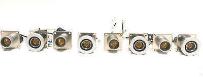 Lot of 4 Pairs Sony HXC-100 Series Camera & CCU European Triax Connector Plugs
