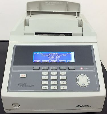 Tested ABI 9700 96 Well PCR Applied Biosystems GeneAmp Thermal Cycler z3