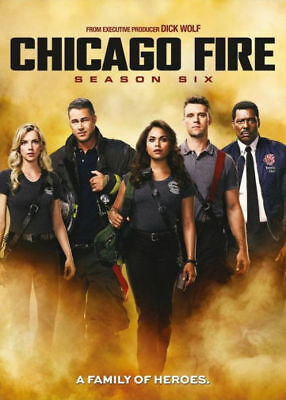 Chicago Fire: Season Six 6(DVD, 2018)