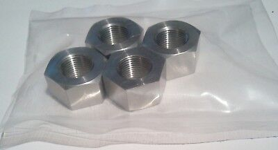 Pack of 4, 1/2 CEI Stainless 26tpi Full Nuts, cycle, bscy, bsc