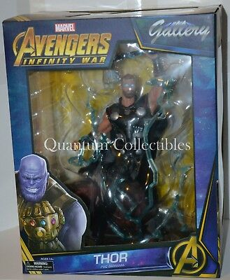 (PRESALE) Marvel Gallery Thor (Avengers 3: Infinity War Movie) PVC Statue DST