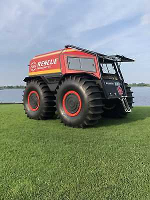 Amphibious ATV - SHERP ATV - SHERP PRO - Kubota Engine
