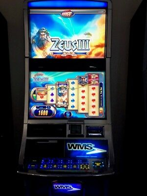 WMS ZEUS 3 Software BB2 Slot Machine Williams Bluebird 2 Game