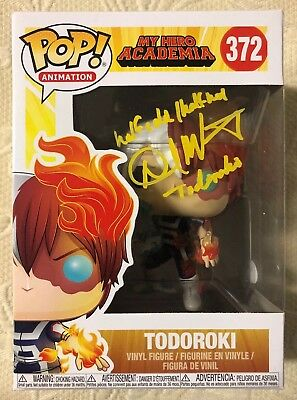 David Matranga Signed Autographed Todoroki Funko Pop MY HERO ACADEMIA JSA COA
