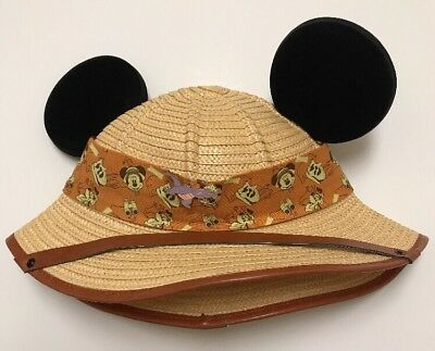7c140f7ccc787 ... new style disney parks mickey ears animal kingdom safari hat 21.65  inches 2d79b a294e