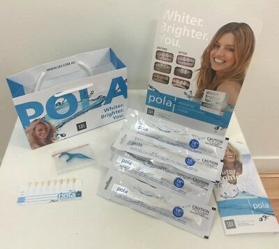 Polanight Teeth Whitening Gel x4 - 18% Carbamide Peroxide Syringes (3g) + EXTRAs