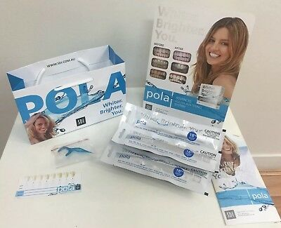 Polanight Teeth Whitening Gel x3 - 18% Carbamide Peroxide Syringes (3g) + EXTRAs