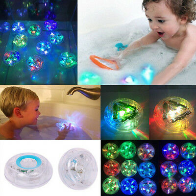 LED Tub Light Kids Bath Fun LED Light Up Toys Waterproof Children Glowing Ball