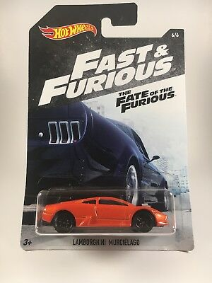2018 Hot Wheels Fast Furious 6 Lamborghini Murcielago The Fate Of