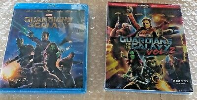 Guardians of the Galaxy Volume 1 & Volume 2 [2-Blu-ray Bundle] FREE USPS SHIP