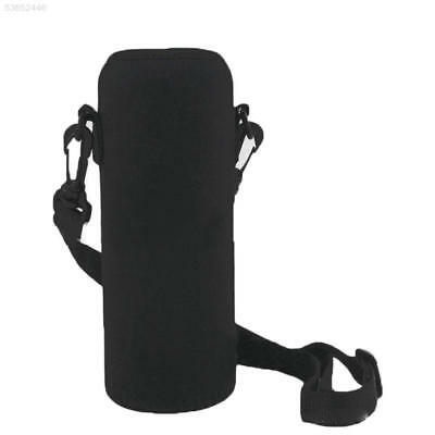 600ML Neoprene Water Bottle Shoulder Carrier Insulated Cover Bag Holder Strap