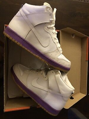 new product 841a9 aad75 Nike Dunk High Deluxe Sz 9 VNDS Mita Sb Ostrich Hyacinth Rare 2005