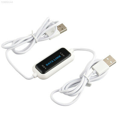 FC4A USB2.0 Laptop PC To PC Online Link File Transfer Cable High Speed Easy Copy