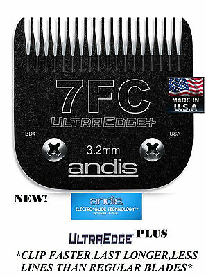 Andis Ultraedge + Egt Plus 7FC 7F Hoja para Oster A5 A6,Most Wahl,Laube Alicates